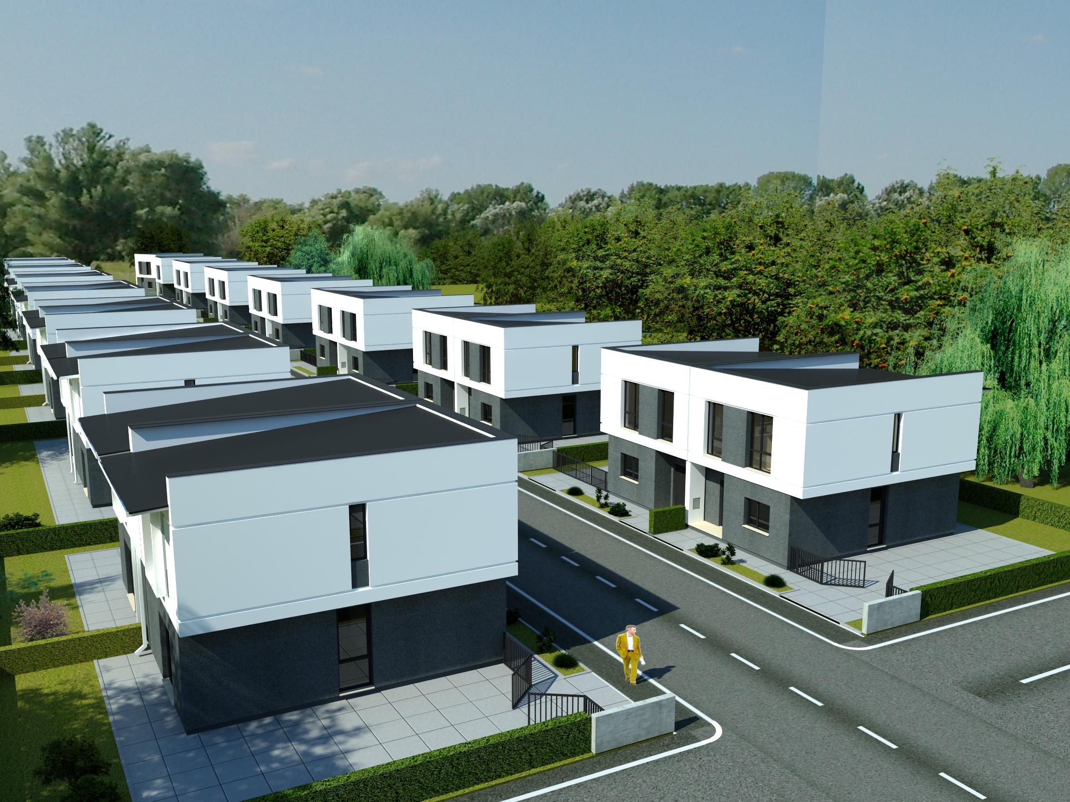 Am proiectat IVONCO Residential Tunari, ansamblul de case din mijlocul naturii – GALERIE FOTO