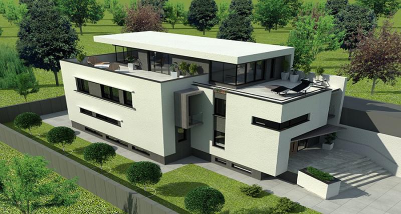 SERENITY HOUSE: Subsol + Parter + 2 Etaje