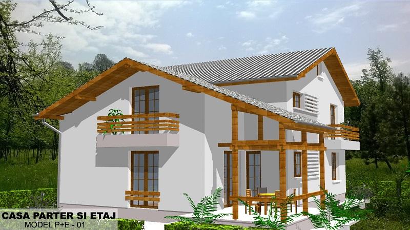 RUSTIC HOUSE 3: Parter + Etaj