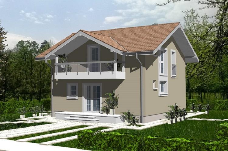 AMERICAN HOUSE: Parter + Mansardă